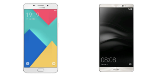 A9 Galaxy Pro vs Huawei Mate 8: comparative