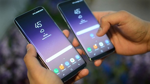 Samsung Galaxy S8 and S8 +